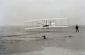 Wright brothers' and airplane